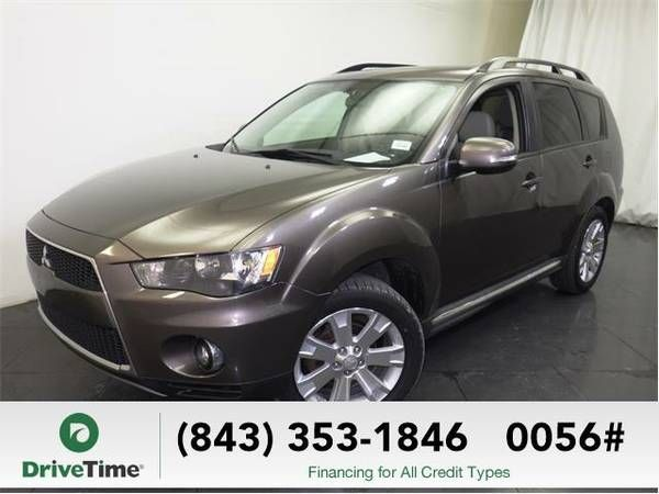 2011 Mitsubishi Outlander SUV SE (Dont Miss! Get down payment in 2 mins!)