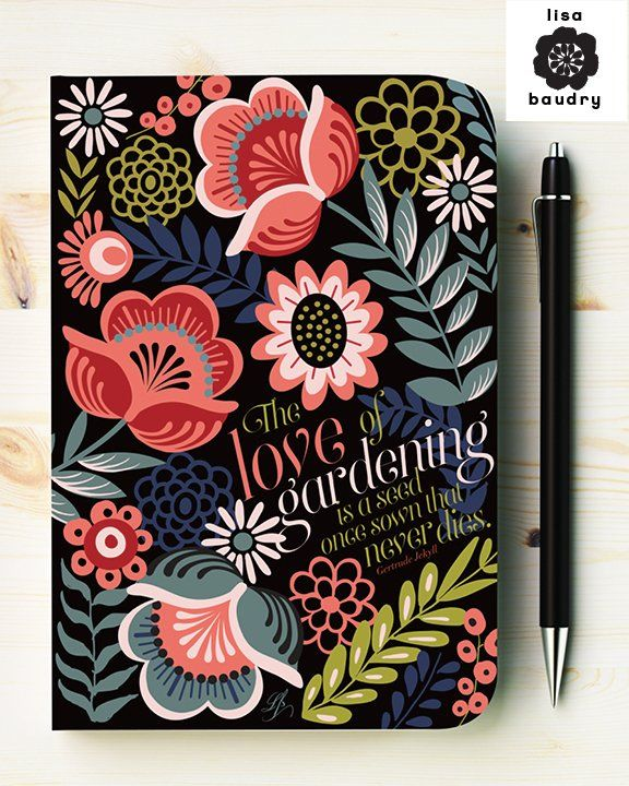 Garden Journal by Lisa Baudry