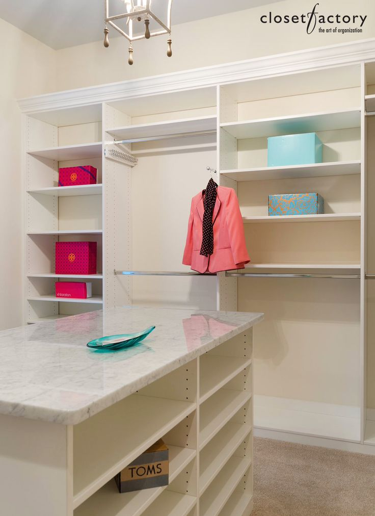 A Perfect Example Of An Actually Custom Design. Notice How This White Melamine  Closet System