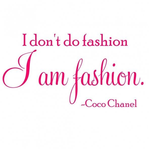 """""""Its a well-established fact that I can be a bit of a tomboy, and so not many people know that I love everything Chanel, especially Coco Chanel. She was and still is the epitome of fashion, no questions asked."""""""