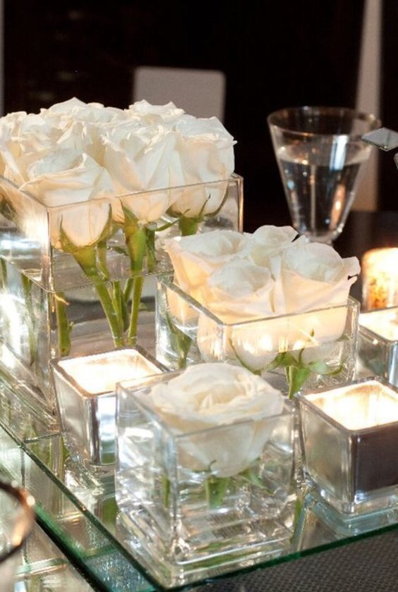 Best ideas about glass centerpieces on pinterest wine