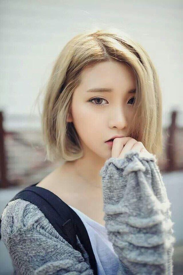 asian, cute, fashion, girl, kfashion, korean, pretty, short hair, ulzzang