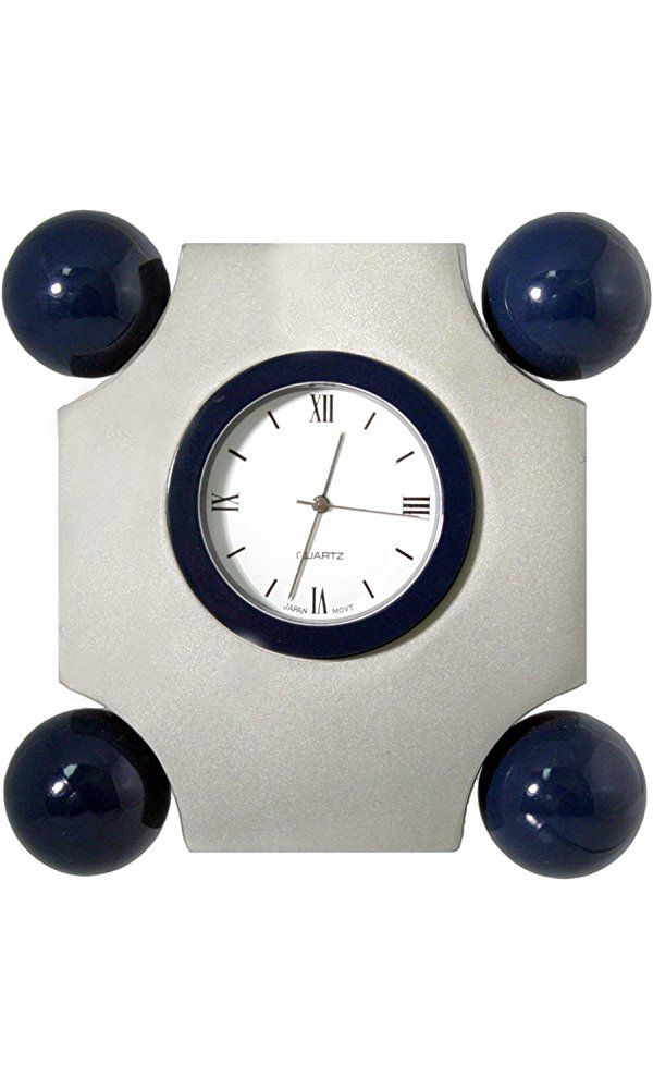 Natico Clock, Art Deco With  4 Balls (10-3166) Best Price