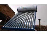 Los termos solares sirven para abastecer todo tu hogar con agua caliente, SIN COSTO. Utilizan 100 % energia solar.  Instalas un termotanque ...128929693