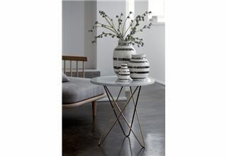Omaggio vase H125mm sølv