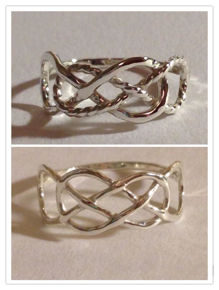 Celtic Knot Double Infinity Ring, Infinity ring, Revenge, infinity times infinity, friendship ring,Infinite love by EllynBlueJewelry on Etsy https://www.etsy.com/listing/109046269/celtic-knot-double-infinity-ring