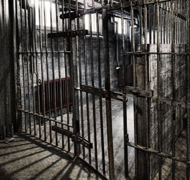 Never sure of how to define grunge, this shot of the old jail in the ...