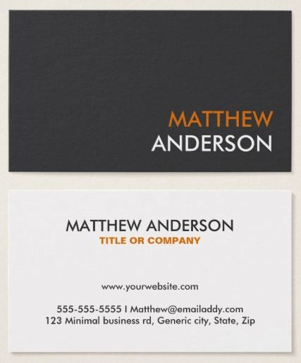 63 best images about Business cards – Professional Business Profile