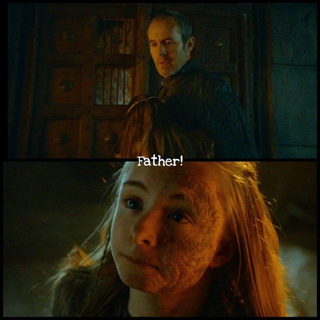 Stannis Baratheon did not come to his wife to visit only her, he also wanted to see his daughter Shireen. Shireen is suffering Greyscale and is locked away mostly all the time. She was very happy to see her father again, when he visited her the first time after the Battle of Blackwater. --- I love Shireen. She is kind, intelligent, brave, strong, funny and lovely. The young actress Kerry Ingram (@kerry_ingram ⬅⬅⬅ please follow her! ☺) is doing an absolutely great job. What do you think about…