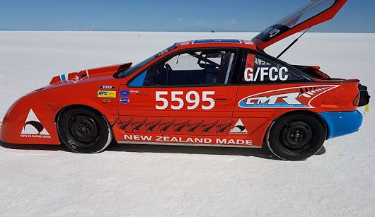 Buy NZ Made is all about fostering that kiwi can-do attitude. Check out what Reg Cook and his team CMR Bonneville are achieving at the Bonneville Salt Flats in Utah this week cmrchallenges.co.nz #nzmade