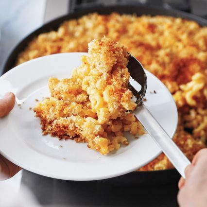 ... -Cheesy Macaroni and Cheese with Crunchy Crumb Topping | Sur La Table