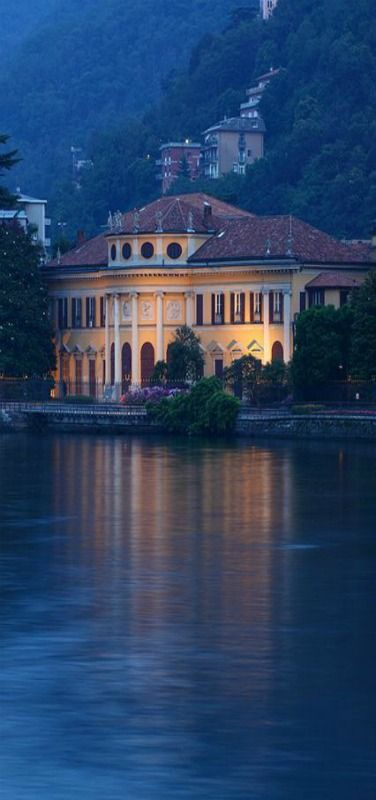 Vila Saporiti, Lake Como, Italy by Ionut Iordache