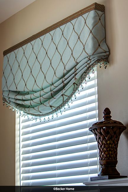 Relaxed Roman Shade Stationary Returned To Wall