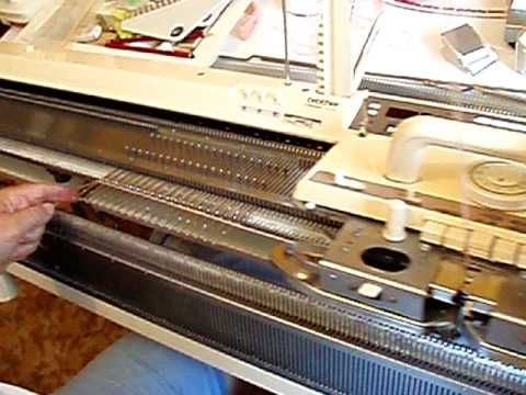 Brother Knitting Machine simple cast on