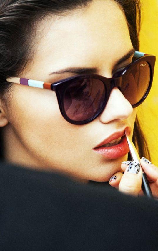 647d25d692 Adriana Lima for women s Vogue eyewear