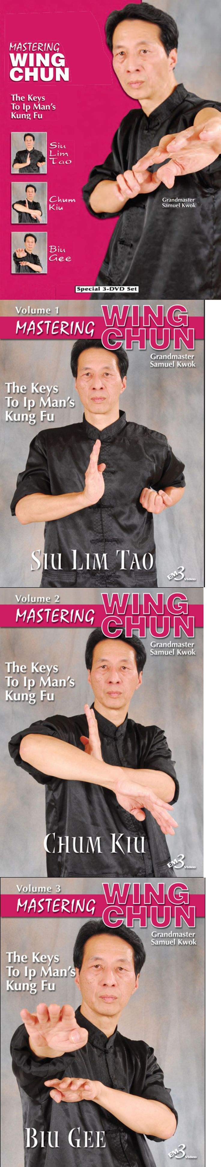 DVDs Videos and Books 73991: Samuel Kwok Learn Wing Chun Compendium Kung Fu Training Dvd Videos 3 Disc Set -> BUY IT NOW ONLY: $69.95 on eBay!