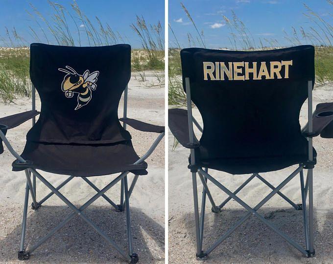 Monogrammed Camp Chair Custom Folding Chair Bag Chair Personalized Folding Chair Game Day Chair Tailgate Chair Camping Chairs Custom Camp Chairs Personalized Camping Chairs Personalized Chairs