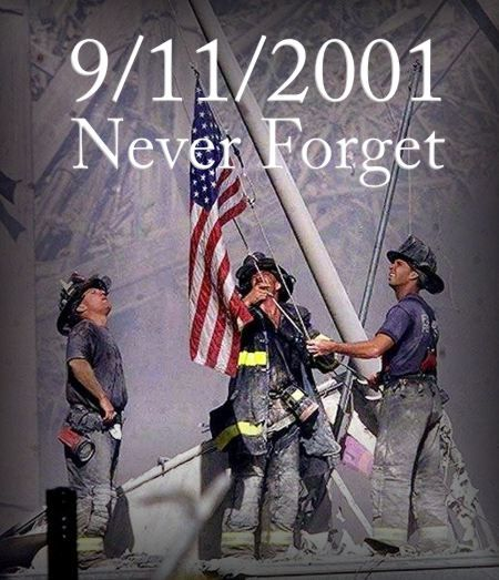 One of the iconic photos taken from 9/11/01. We were in Monterey visiting my folks and this came on the morning news shows. Devastating and very frightening.