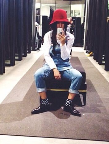 Tibetan  #_borntobeme #instagram to Check out her more outfits