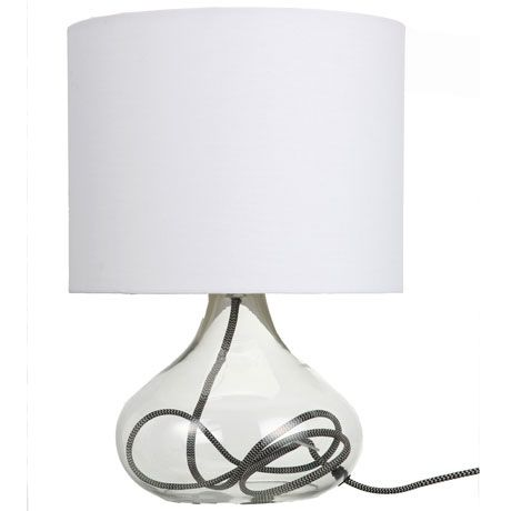 Clarity Table Lamp  White