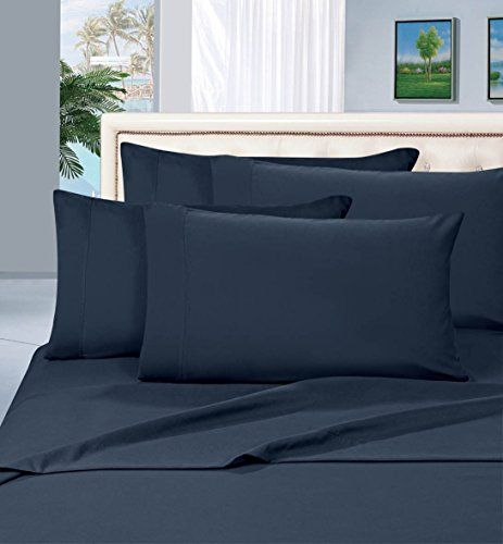 #1 Rated Best Seller Luxurious Bed Sheets Set on Amazon! Elegant Comfort® 1500 Thread Count Wrinkle,Fade and Stain Resistant 4-Piece Bed Sheet set, Deep Pocket, HypoAllergenic - King Navy Blue //http://bestadjustablebed.us/product/1-rated-best-seller-luxurious-bed-sheets-set-on-amazon-elegant-comfort-1500-thread-count-wrinklefade-and-stain-resistant-4-piece-bed-sheet-set-deep-pocket-hypoallergenic-king-navy-blue/