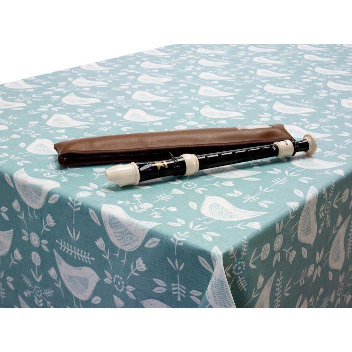 Narvik Duck Egg Birds Scandinavian Matt Finish Oilcloth Wipe Clean Tablecloth In 2020 Oil Cloth Oilcloth Tablecloth Scandinavian
