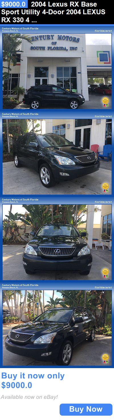SUVs: 2004 Lexus Rx Base Sport Utility 4-Door 2004 Lexus Rx 330 4 Door Suv Fwd 3.3L V6 Fi 24V BUY IT NOW ONLY: $9000.0