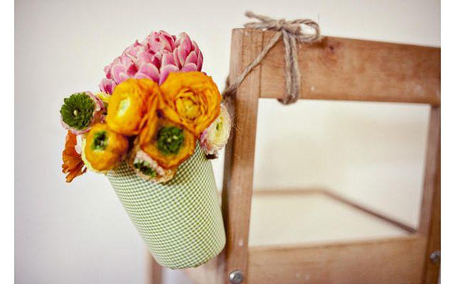 Подвесная цветочная ваза