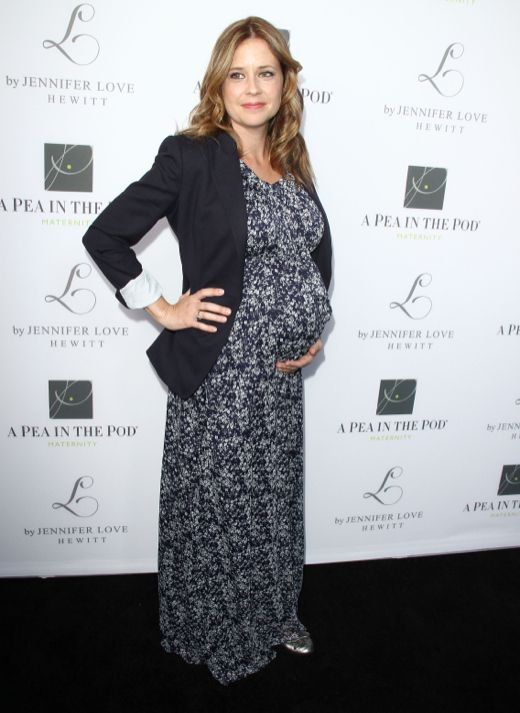 Jenna Fischer at the Jennifer Love Hewitt's Maternity collection launch in LA