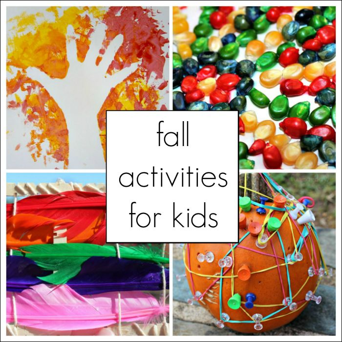Fall activities for kids - arts and crafts, literacy, sensory, math, and science ideas-by Mary Catherine...This page is going to house all of Fun-A-Day's fall activities for kids – from literacy to math to sensory play. I'll be updating the page as I write more fall activities, so be sure to check back!