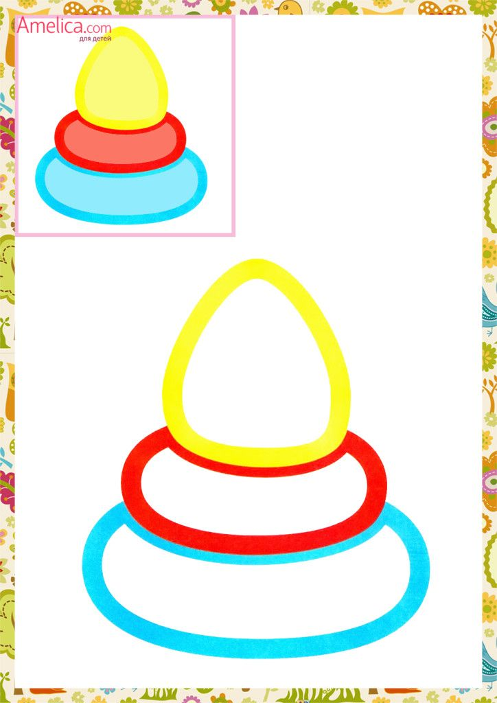 Раскраски для самых маленьких распечатать, первые раскраски для малышей с цветным контуром