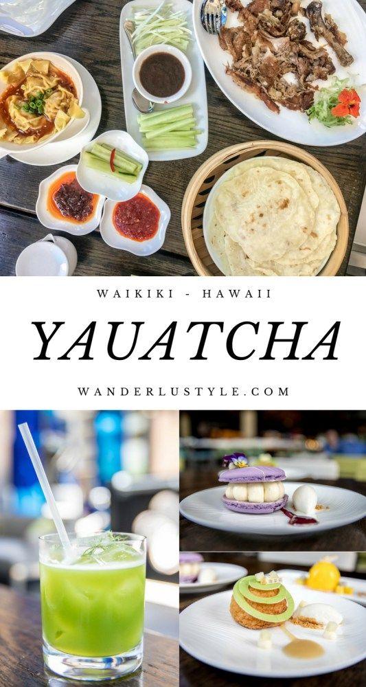 Yauatcha Restaurant in Waikiki. 5-star dim sum in Hawaii! #foodie #foodtravel #Hawaiifood | Wanderlustyle.com