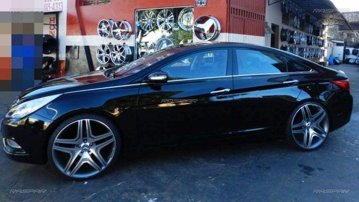 """Hyundai Sonata 2011 com rodas aro 22"""" foto 1"""