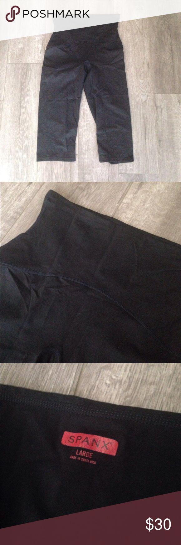 Black spanx size L Good used condition SPANX Intimates & Sleepwear Shapewear