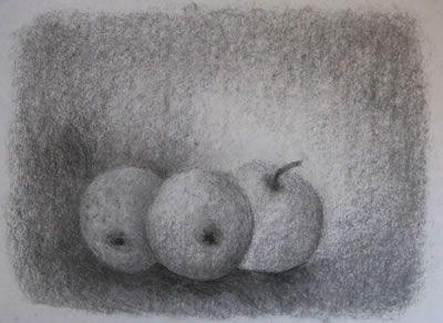 SCHETSEN ; je kan op de tekening goed zien dat het is geschetst want je ziet dat er nog sommige details gemaakt moeten worden