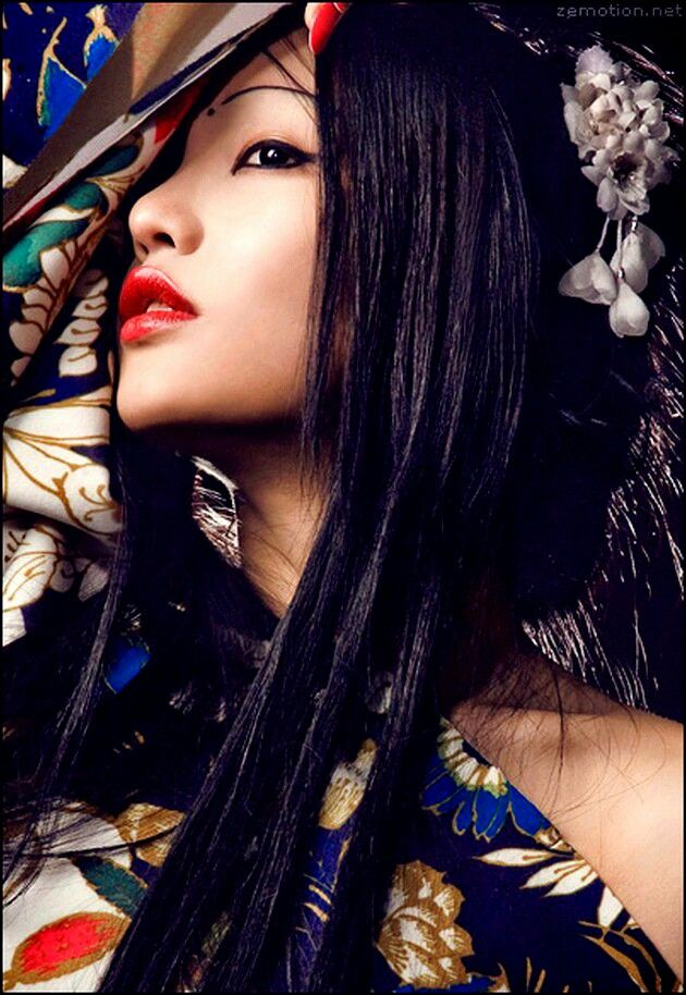 Modern Geisha Japanese Chinese Etc Fashion Pinterest