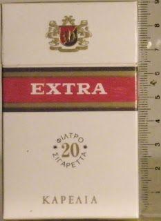Συλλογή από πακέτα τσιγάρων: Καρέλια