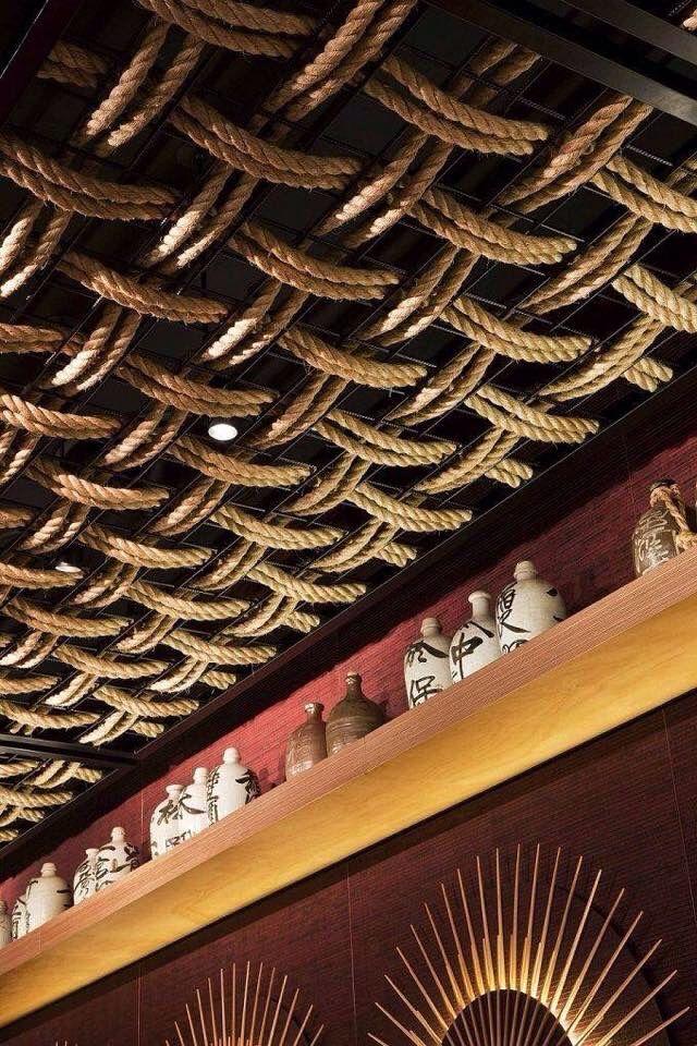 Обратите внимание на потолок, как деталь интерьера #design #ceiling #indetaildesign