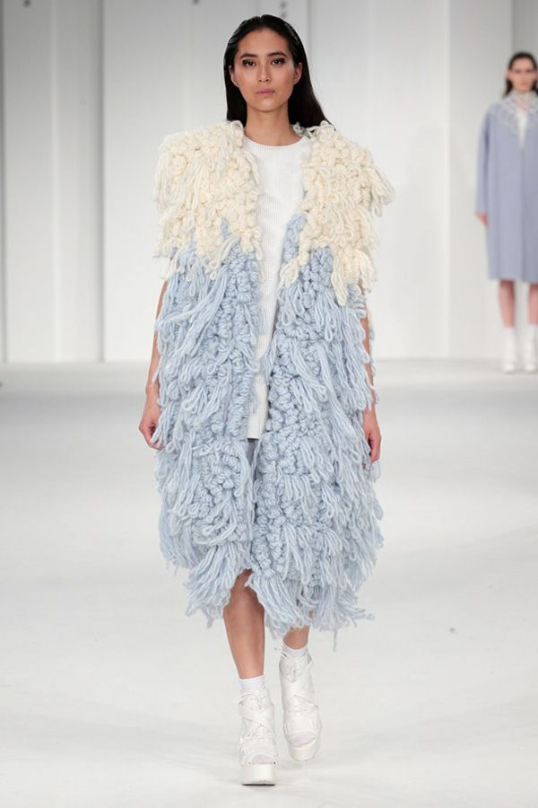innovative knitwear, shirsti rai, graduate fashion week 2014, uca rochester,