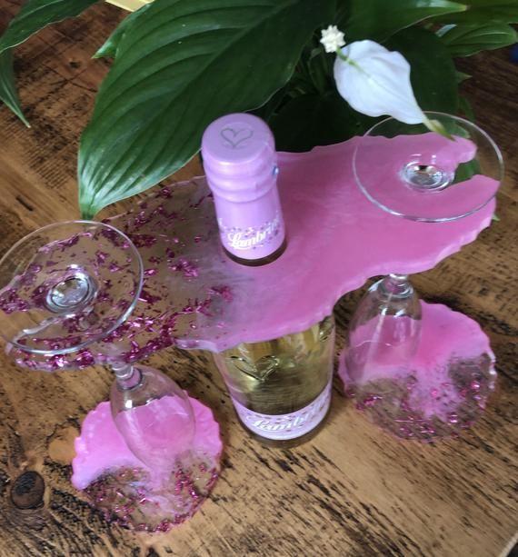 47++ Epoxy resin wine glass ideas