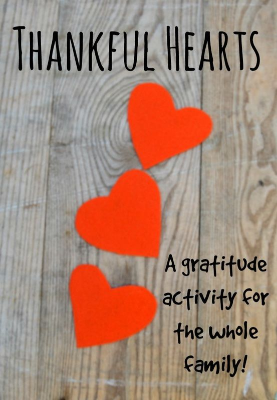 A simple family activity to spread the gratitude!
