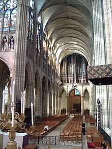 Basilica of St Denis - Wikipedia, the free encyclopedia
