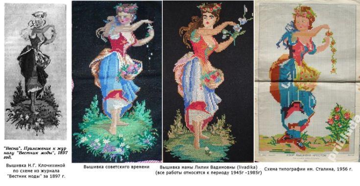 (1) Gallery.ru / Фото #21 - Родословная советских схем и вышивок - Kalla