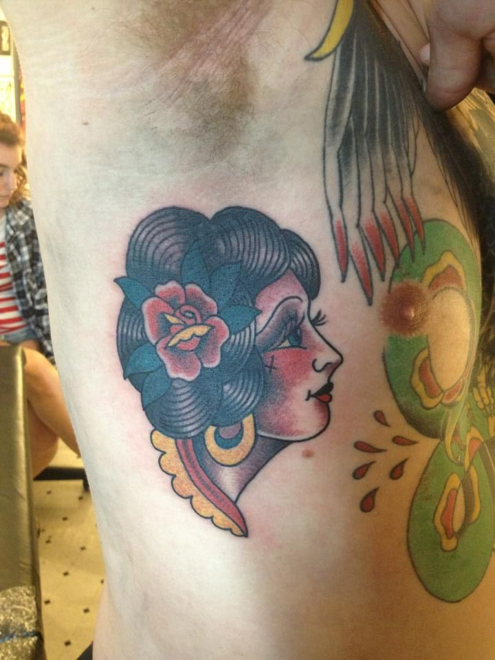 Rohan Tattooer , Wellington. New Zealand