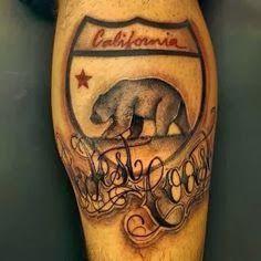 California Bear Flag Republic Tattoo | Bear Flag Museum
