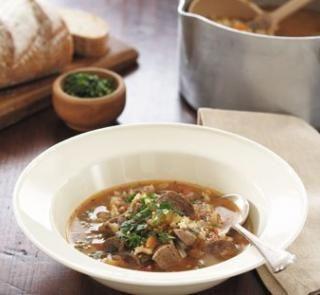 Lamb and barley soup | Healthy Food Guide