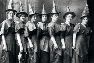 Rosie,Fran,Mary,Cynthia,Nellie,Mercy and oh yeah our sister Erma...all of us witches and good at what we do!