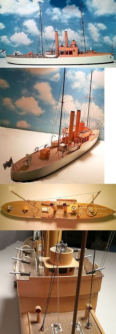 Other Handcrafted Home Accents 160657: Scale Model Sms Panther Imperial German Gunboat Of 1901 -> BUY IT NOW ONLY: $300 on eBay!