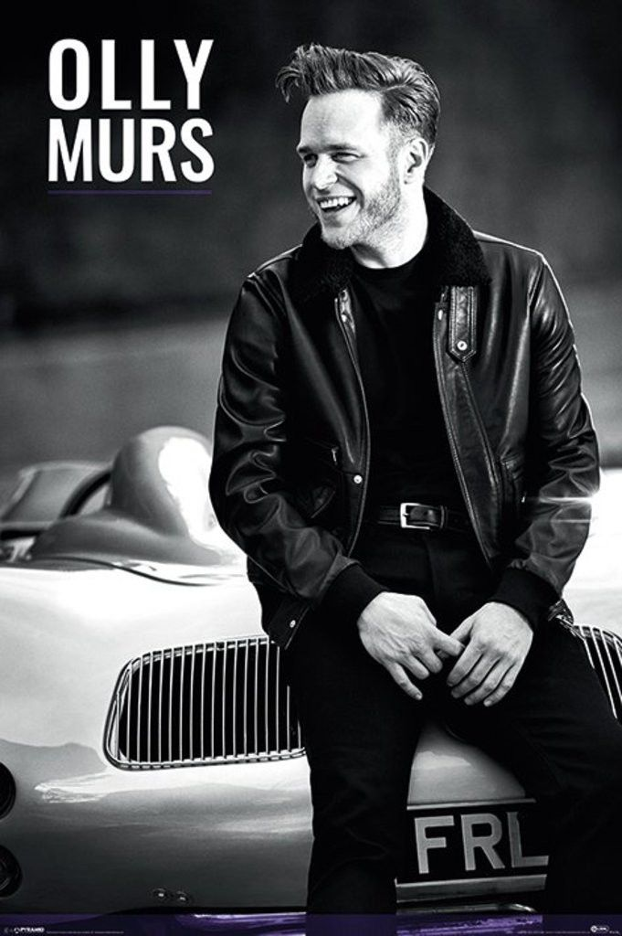 Olly Murs - Car - Official Poster. Official Merchandise. Size: 61cm x 91.5cm. FREE SHIPPING