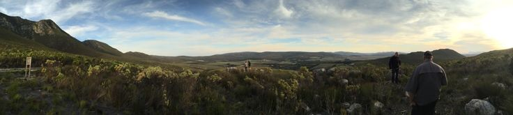 The views from the top of the mountain.  Walk from the cottages or bring your bike - loads of MTB trails